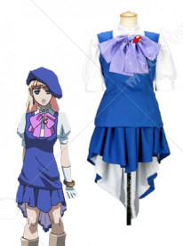 Macross Frontier Sheryl Nome Cosplay Uniform