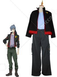 Macross Frontier SMS Team Alto Saotome Cosplay Uniform