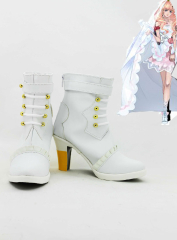 Macross Series Sheryl Nome Wedding Cosplay Shoes
