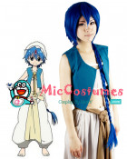 Magi The Labyrinth of Magic Aladdin Cosplay Wig