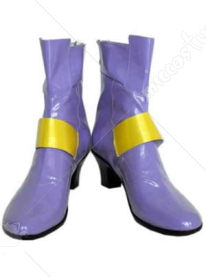Magical Girl Lyrical Nanoha Fate Testarossa Cosplay Shoes Boots