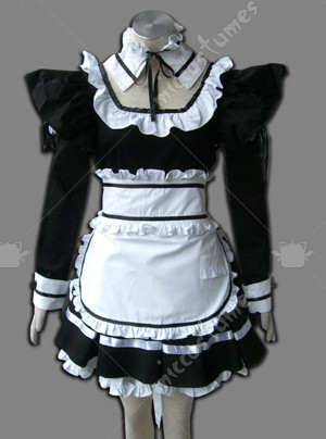 Maid Culture Dark Evil Cosplay Costume