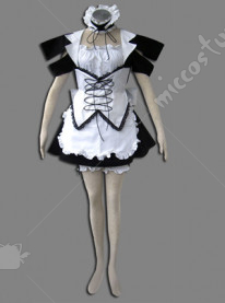 Maid Culture Elf of Wind Cosplay Costume
