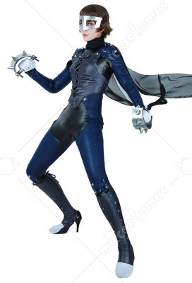 Persona 5 Ann Takamaki Phantom Thief Cosplay Costume+mask,whip and boots cover