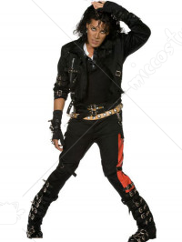 Michael Jackson Bad Cosplay Costume