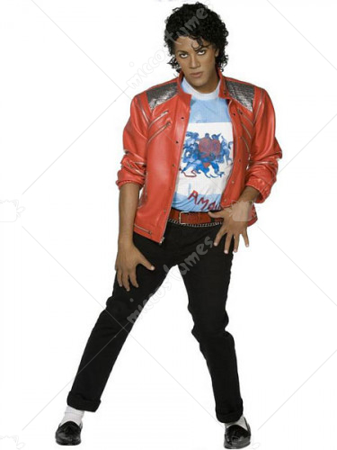 Michael Jackson Beat It Jacket Cosplay Costume