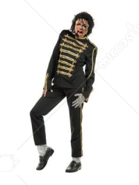 Michael Jackson Military Prince Black Cosplay Costume