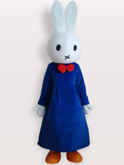 Miffy Short Plush Adult Mascot Costume