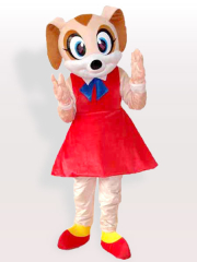 Mini Mouse Adult Mascot Costume