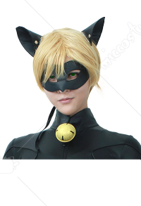 Black Cat Cosplay Wig