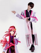 Mobile Suit Gundam Seed Destiny Lacus Clyne Cosplay Costume