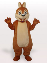 Mouse Short Plush Adult Mascot Costume