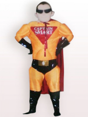 Mr Incredibles Short Plush Adult Mascot Costume