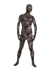Multicolor Camouflage Lycra Cotton Unisex Zentai Suit