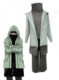 Naruto Green Shino Aburame Cosplay Costume