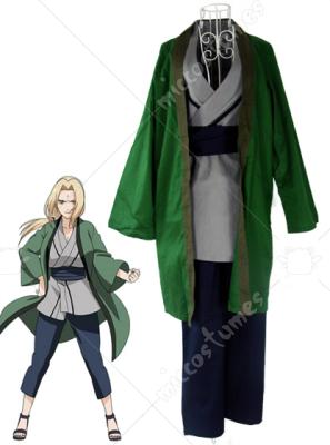Naruto Green Tsunade Cosplay costume