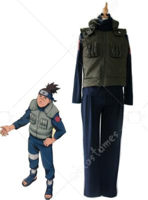 Naruto Iruka Umino Cosplay Costume