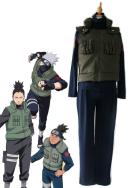 Naruto Konoha Jounin Cosplay Costume