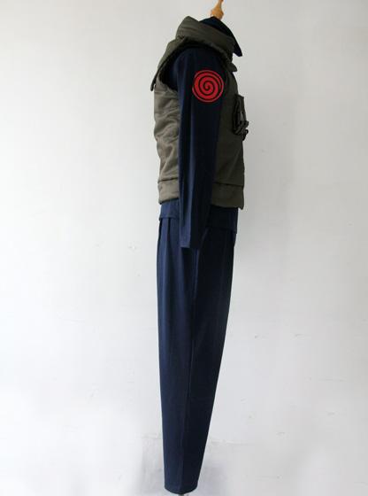 Naruto Konoha Jounin Cosplay Kostüme