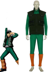 Naruto Might Guy Rock Lee Cosplay Costume