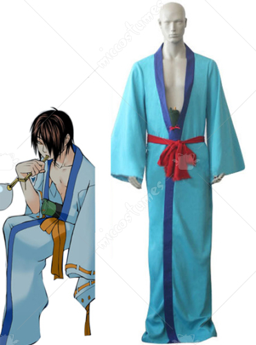 Naruto Six Tailed Slug Utakata Cosplay Costume