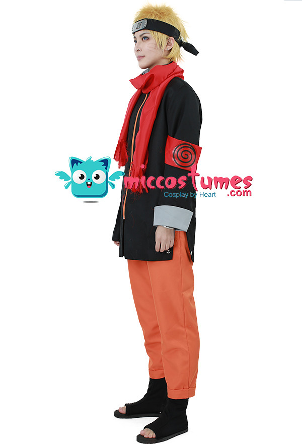 The Last: Naruto the Movie Naruto Uzumaki Cosplay kostüme