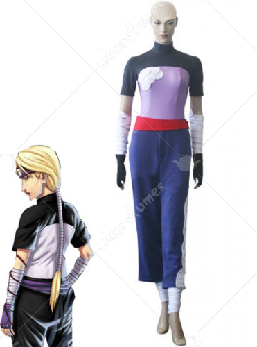 Naruto Two Tailed Monster Cat Yugito Nii Cosplay Costume