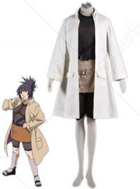 Naruto White Kurenai Yuhi Cosplay Costume