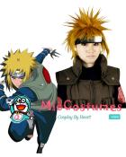 Naruto Yondaime 4th Hokage Minato Namikaze Cosplay Wig