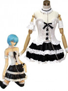 Neon Genesis Evangelion Rei Ayanami GothLoli Cosplay Costume