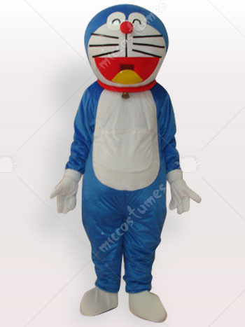 New Doraemon Short Plush Adult Mascot Costume