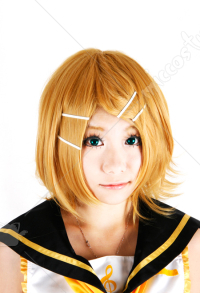 Vocaloid Rin Cosplay Wig