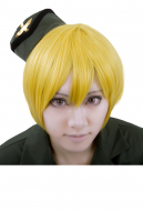 Nyotalia Germany Monica Cosplay Wig