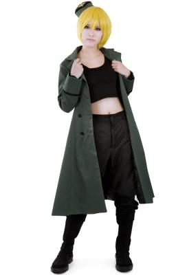 Nyotalia Germany Monica Cosplay Costume