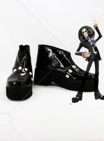 One Piece Brook Cosplay Shoes