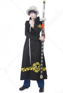One Piece Trafalgar Law Cosplay Overcoat Version 2