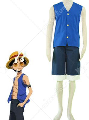 one piece cosplayers costume