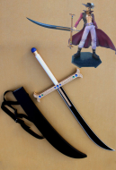 One Piece Dracule Mihawk Cosplay Sword