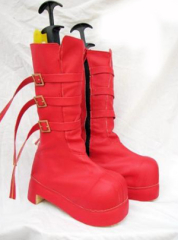 One piece Paula Cosplay Shoes Boots