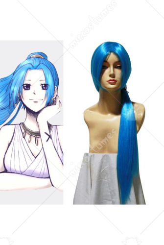 One Piece Vivi Cosplay Wig