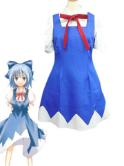 Phantasmagoria of Dim Dream Cirno Cosplay Costume
