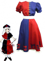 Phantasmagoria of Dim Dream Eirin Cosplay Costume