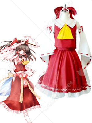 Phantasmagoria of Dim Dream Reimu Cosplay Costume