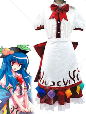 Phantasmagoria of Dim Dream Tenshi Hinanawi Cosplay Costume