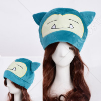 Pokemon Adult Plush Warm Hat Cap Beanie Costume Cosplay Snorlax