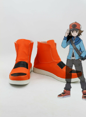 Pokemon Black and White Protagonist Cosplay Shoes