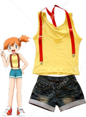Pokemon Misty Cosplay Costume