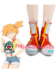 Pokemon Misty Cosplay Shoes