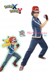 Pokemon X and Y Ash Ketchum Cosplay Costume