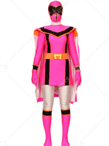 Power Rangers Spandex Lycra Super Hero Costume